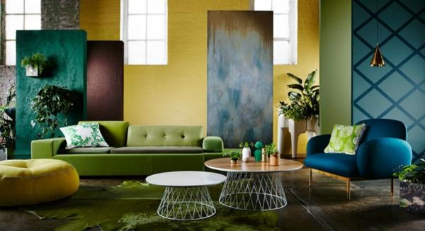 Deko wohnzimmer grün  Wohnzimmer Deko : wohnzimmer deko farben ~ Inspirierende Bilder ...