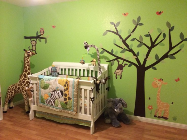 Babyzimmer Wandgestaltung ~ DeEviz.CoM for .