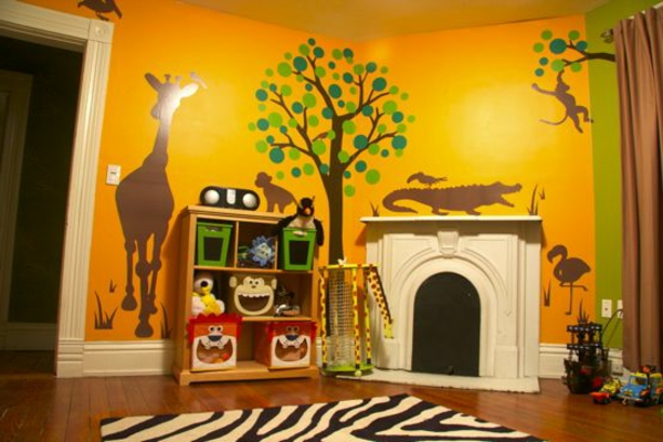 28 coole fotos vom dschungel kinderzimmer. Black Bedroom Furniture Sets. Home Design Ideas