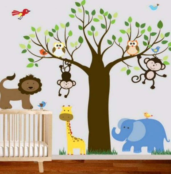 Paint By Number Wall Murals Nursery