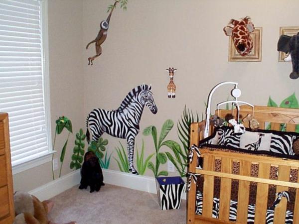 28 coole fotos vom dschungel kinderzimmer. Black Bedroom Furniture Sets. Home Design Ideas