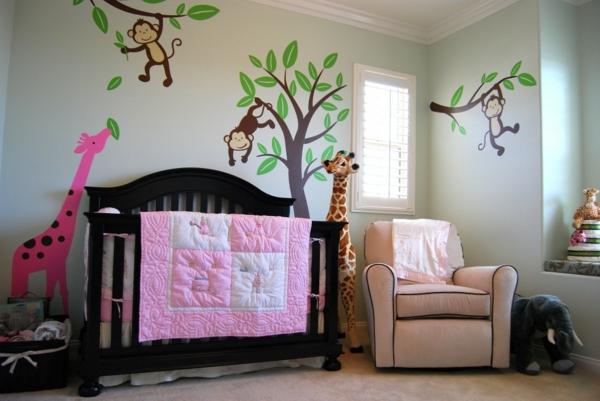 Wandgestaltung Kinderzimmer Dschungel : Wandgestaltung kinderzimmer dschungel  Dschungelkinderzimmer