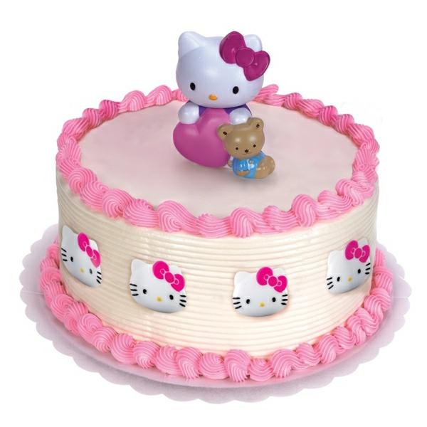 effektvolle-tortendekoration-torten-verzieren-torten-deko-torte-backen-torten-kaufen- Hello Kitty Torten