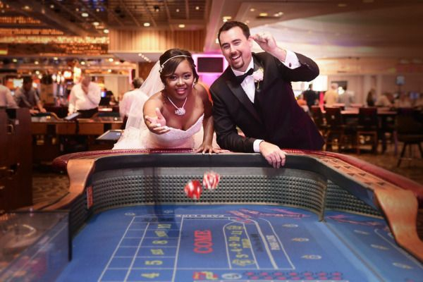sich in las vegas heiraten und danach im kasino spielen