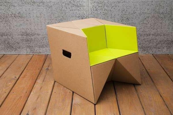 einrichtungsideen-basteln-mit-karton-kartone--kleiner-stuhl