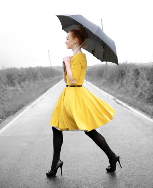 --elegante-kleider-kleid-gelb-damenkleider-günstige-kleider--
