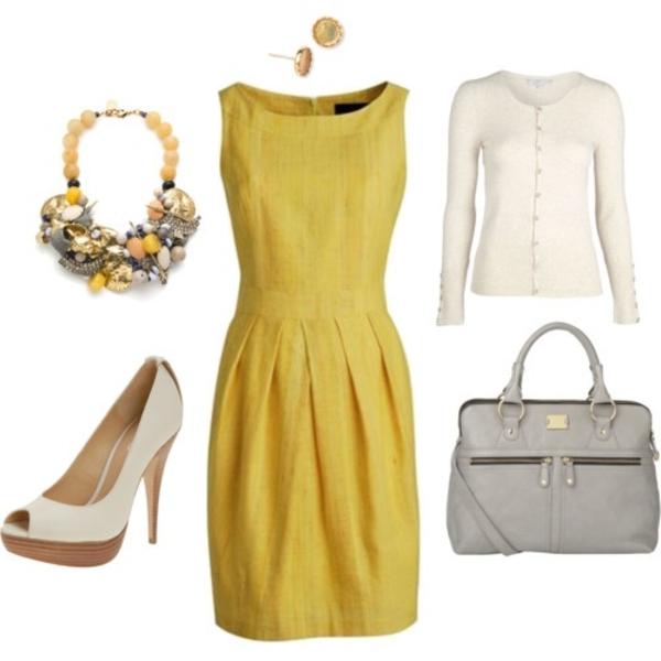 -elegante-kleider-kleid-gelb-damenkleider-günstige-kleider