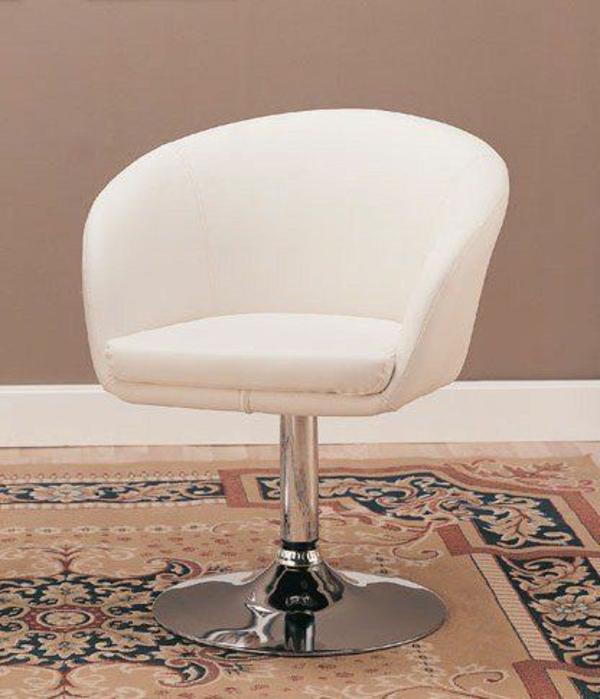 Esszimmer Drehstuhl Schönes Weißes Modell Hintergrund In Taupe Farbe