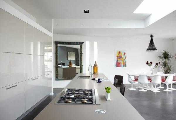 esszimmer-drehstuhl-weiße-esszimmer-gestaltung