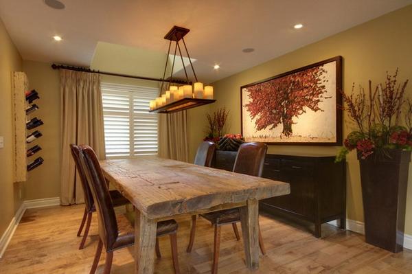 Pendelleuchten esszimmer rustikal for Innenarchitektur und raumgestaltung