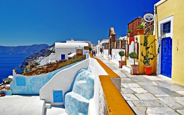 exotische-Atmosphäre-in-Santorini