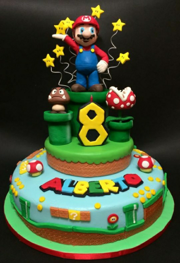 Mario And Luigi Cake Ideas