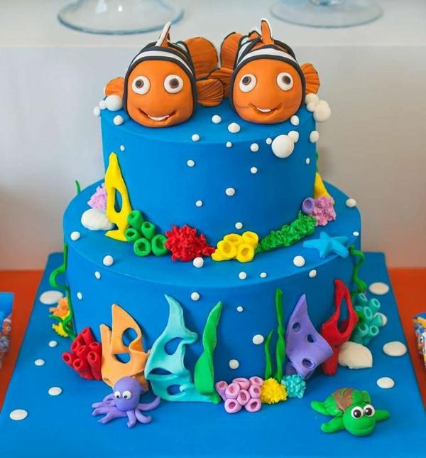 Finding Nemo Cake Design