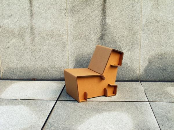 foto-sessel-karton-pappe-pappe-möbel-sofa-aus-pappe- Möbel aus Pappe