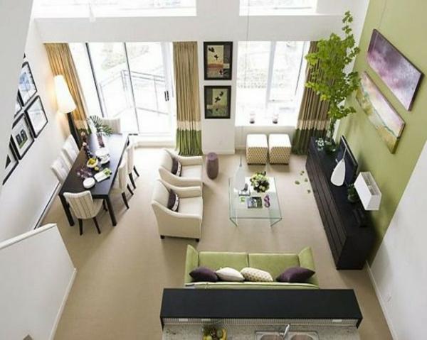 modernes, funktionelles,großes wohnzimmer einrichten! - archzine, Mobel ideea