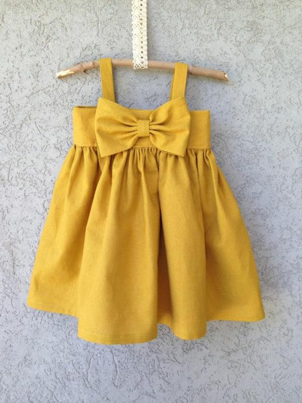 gelbes--babykleid-babymode-kindermode-süße-babykleidung-günstige-babysachen-babymode-günstig
