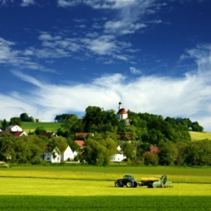 Herrliche Dorf Natur zum Inspirieren!