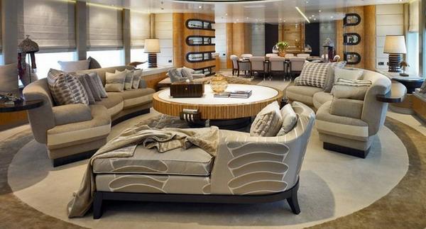 Modernes, Funktionelles,großes Wohnzimmer Einrichten!   Archzine, Wohnzimmer