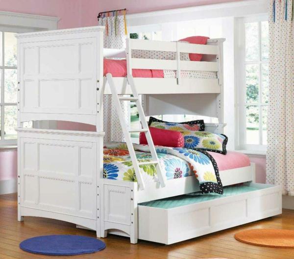 hochbett-für-mädchen-großes-weißes-design
