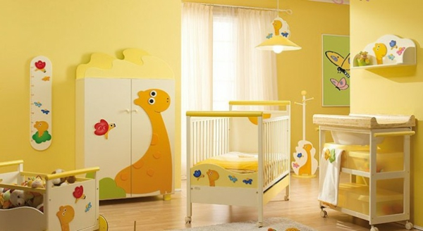 Schon Ideas With Modern And Best Theme Cute Yellow  Babyzimmer Gestalten ...
