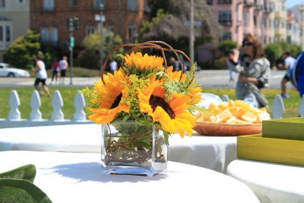Faszinierende Dekoideen Mit Sonnenblumen Archzine Net