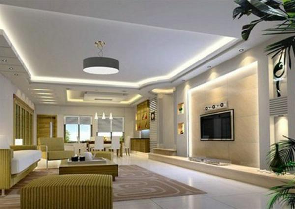 Wohnzimmer und Kamin moderne wohnzimmer leuchten : 36 Fotos von Deckenleuchten für Wohnzimmer! - Archzine.net