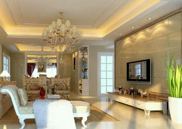 interessante-deckenleuchten-für-wohnzimmer-luxuriöse-gestaltung