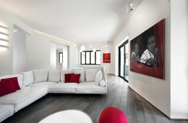 interessante-deckenleuchten-für-wohnzimmer-weißes-interieur