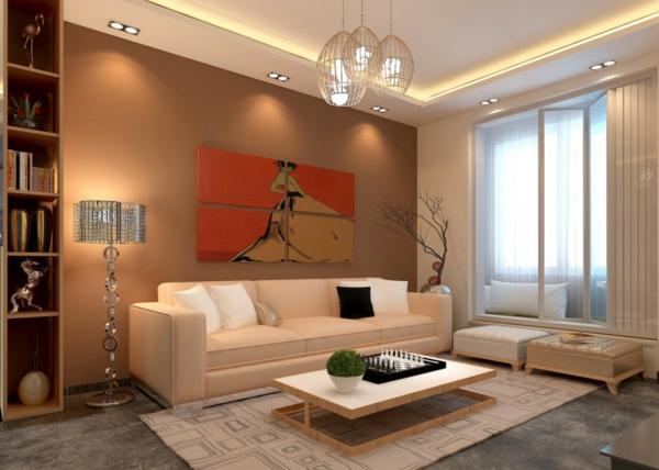 interessante-deckenleuchten-für-wohnzimmer-wunderschöne-ausstattung