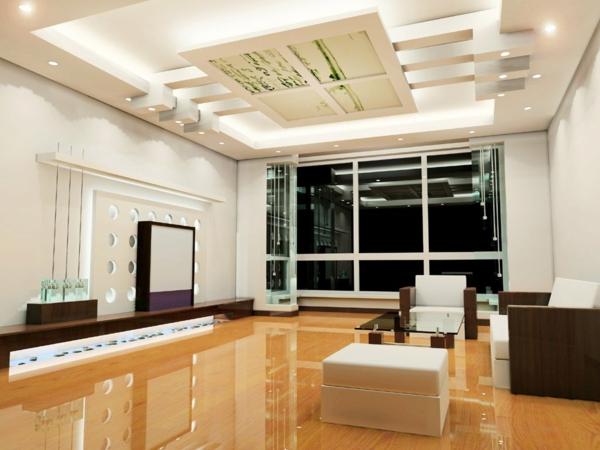 interessante-deckenleuchten-für-wohnzimmer-wunderschöner-look