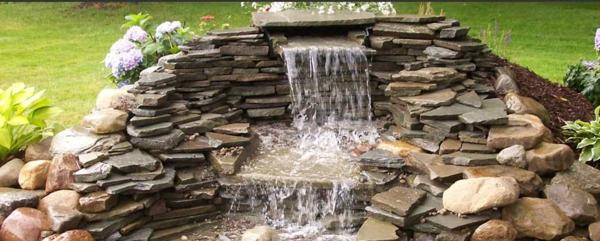 Teich mit Wasserfall: 31 tolle Bilder! - Archzine.net