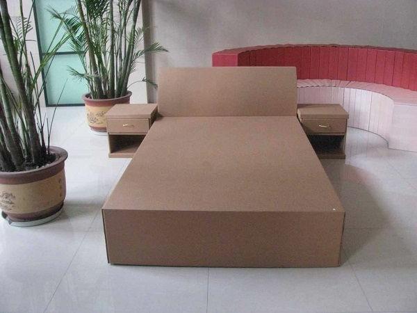 karton-pappe-pappe-möbel-bett-aus-pappe--wohnideen