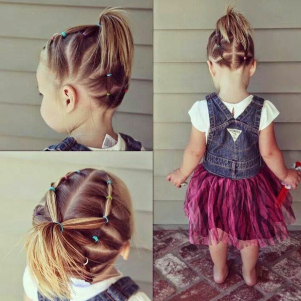 45 Wunderschöne Frisuren Für Kleine Mädchen Archzinenet