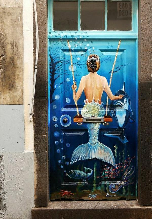 kreativ-bemalte-wohnungstüren-eingangstüren-madeira-portugal