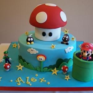 Super Mario Torte - 46 erstaunliche Bilder!