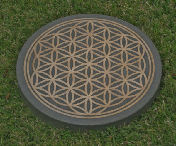 Blume des lebens symbol f r schutz und harmonie for Geometrische deko