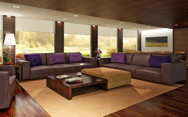 lila-sofas-im-super-großen-wohnzimmer