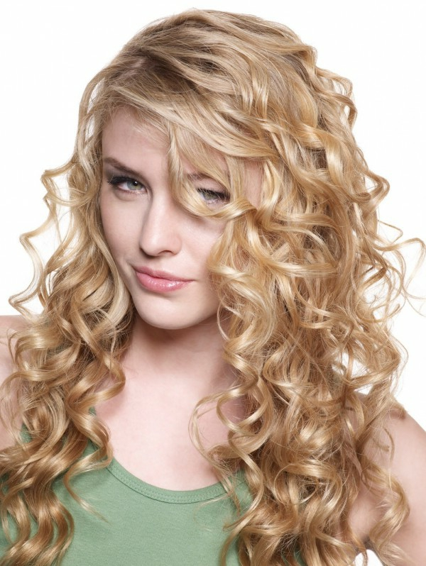 Styling lange haare locken
