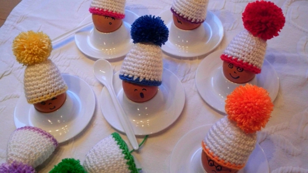 lustige-eierwärmer -ideen-häkeln-wunderschöne-kreative-häkeleien -häkeln-lernen
