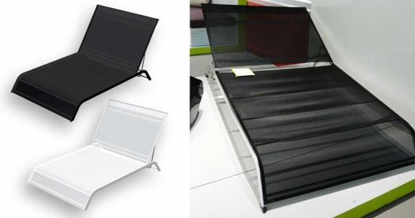 modern-aussehende-schwarze-liegestühle