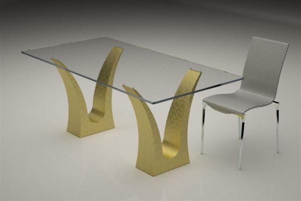 modernes-design-vom-glasplatte-tisch-und-einem-stuhl-daneben