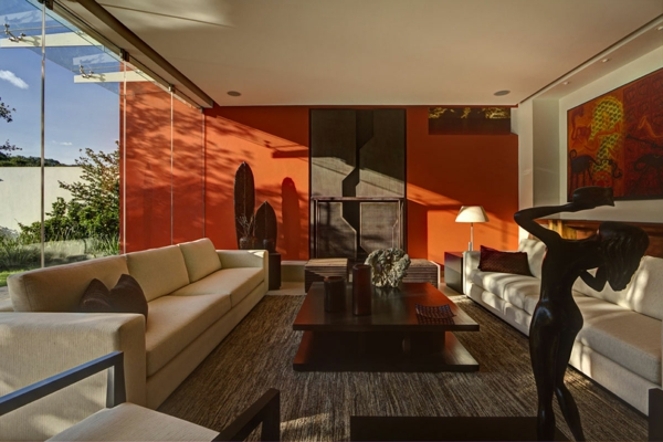 orange-wohnzimmer-design-super-aussehen
