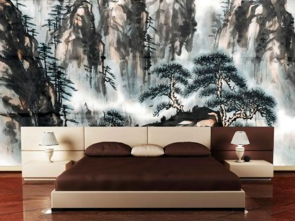 orientalische-wand-im-schlafzimmer