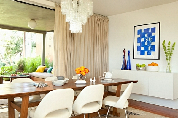 originelle-esszimmer-deko-weißes-modernes-interieur