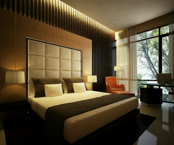 Schlafzimmer Gestalten Braun Beige
