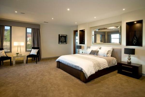 schlafzimmer deckenleuchten modern traumhaus design. Black Bedroom Furniture Sets. Home Design Ideas