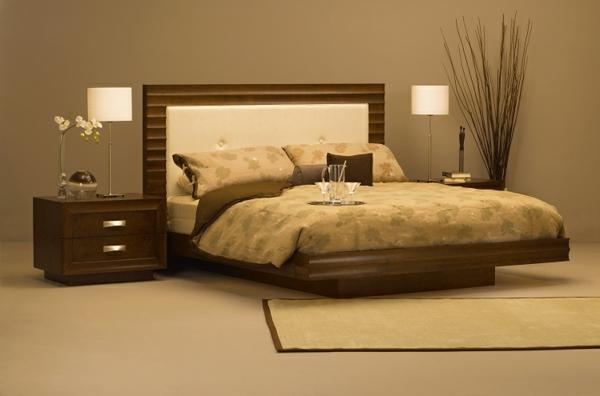 originelle-schlafzimmer-ideen-schöne-beige-farbe