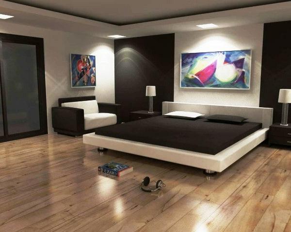 originelle-schlafzimmer-ideen-zimmer-in-dunklen-farbschemen