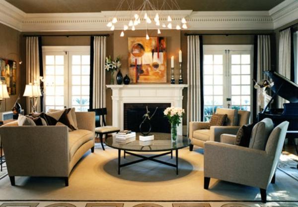 originelle-wohnzimmer-deko-aristokratische-gestaltung