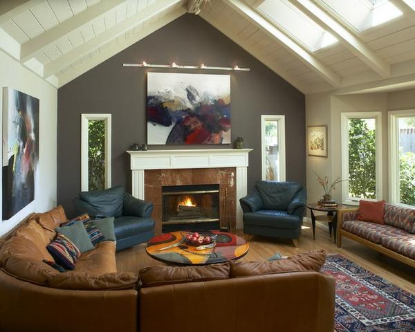 originelle-wohnzimmer-deko-gemütliches-interieur